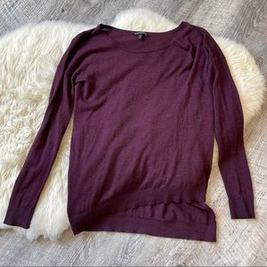 Asymmetrical Express sweater